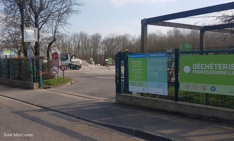 Photo of Metz Métropole : les déchetteries fermées le 11 novembre