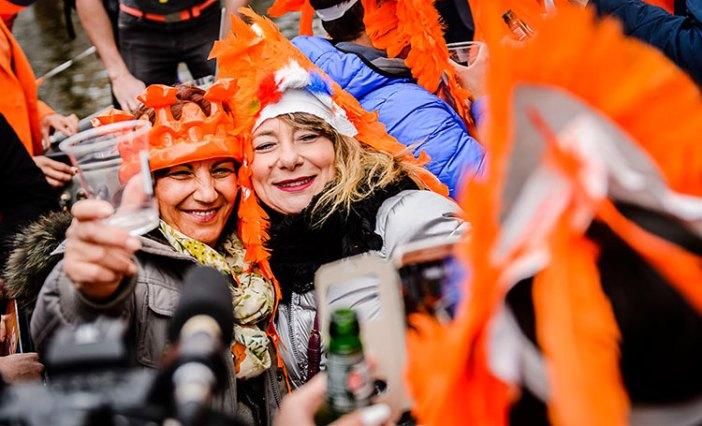 День короля Нидерландов в разгаре