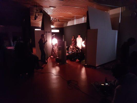Jour 1 : tournage en studio