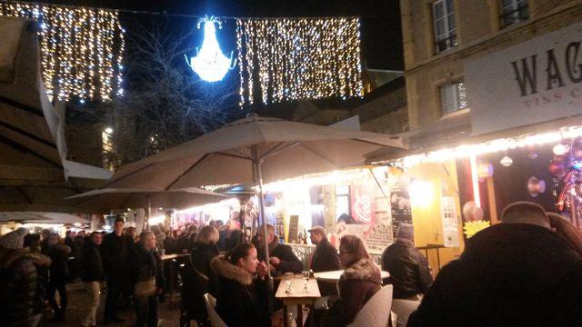 Marché de Noël, marché gourmand, Place de Chambre Metz