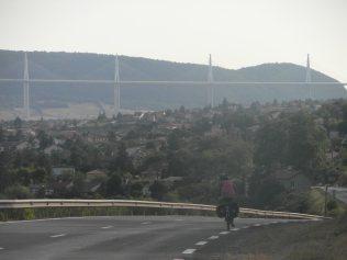 Arrivée sur Millau