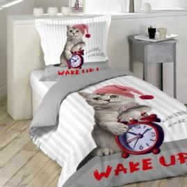 parure-de-lit-2pieces-cat-wake-up