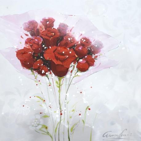 cadre-contemporain-bouquet-de-roses-70x70cm