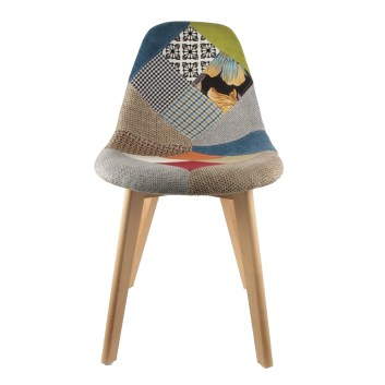 Chaise-scandinave-patchwork-colore-face
