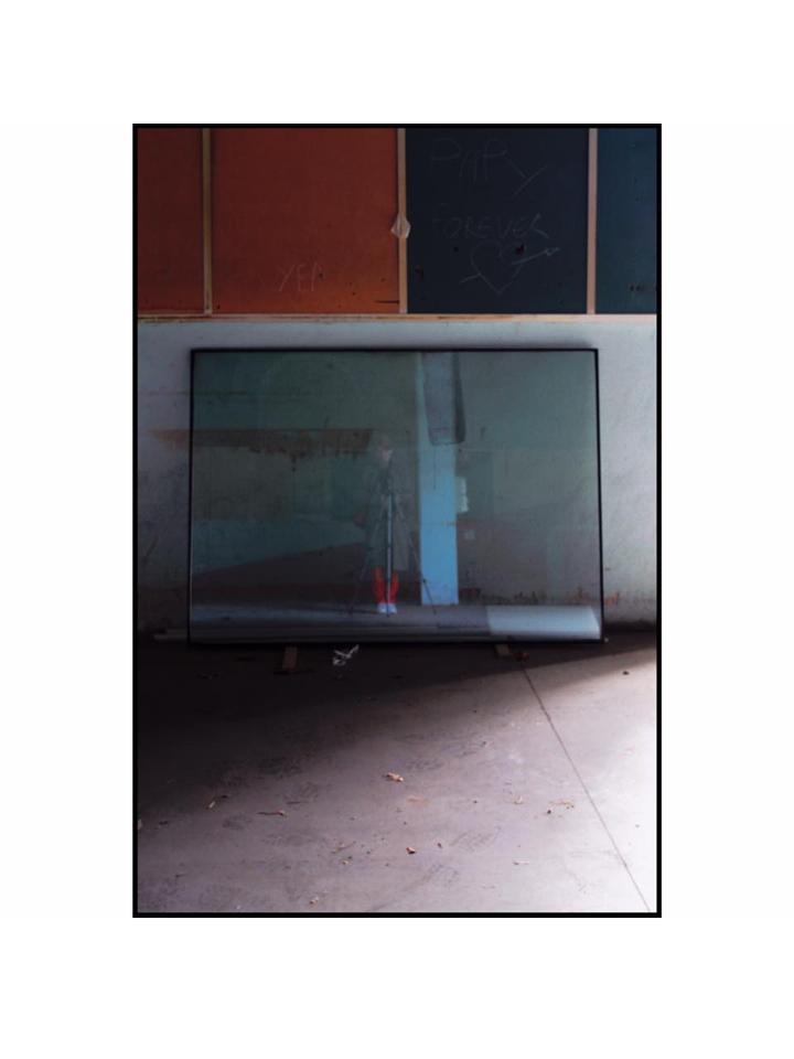 photographie autoportrait en industrie by Anna Yurienen Gallego