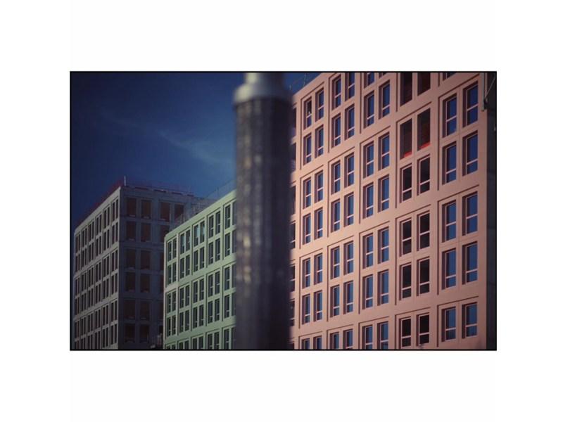 Photographie immeubles NY à Strasbourg par Anna Yurienen Gallego artiste photographe