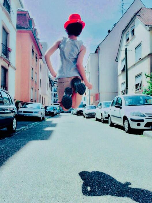 Jump, photographie de Anna Yurienen Gallego artiste photographe