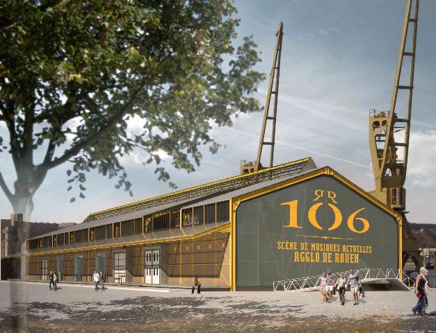 salle spectacle 106 rouen