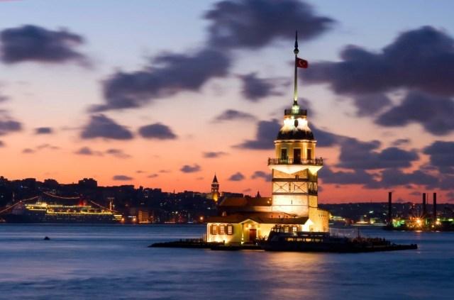 Istanbul la tour de leandre