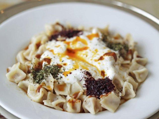 Manti Cuisine Turque