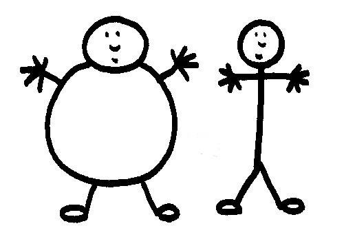 bonhomme gros bonhomme maigre