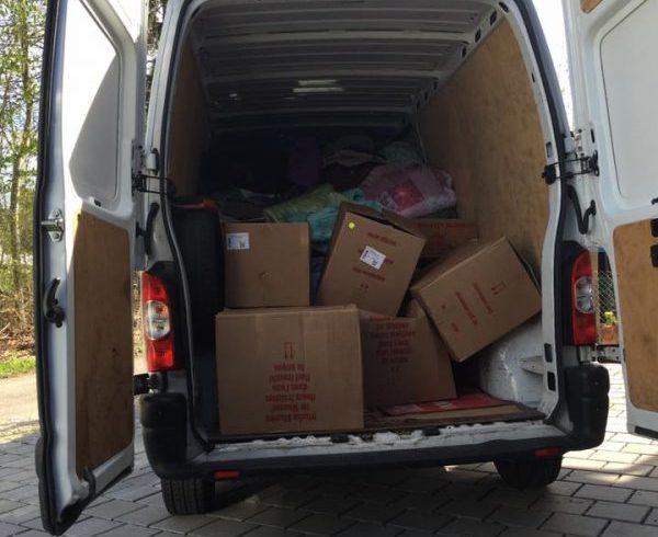 Transport de vos dons vers le refuge – Avril 2016