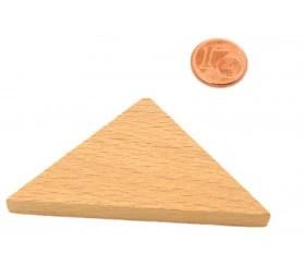 triangle rectangle isocele naturel 67 x 47 x 8 mm en bois