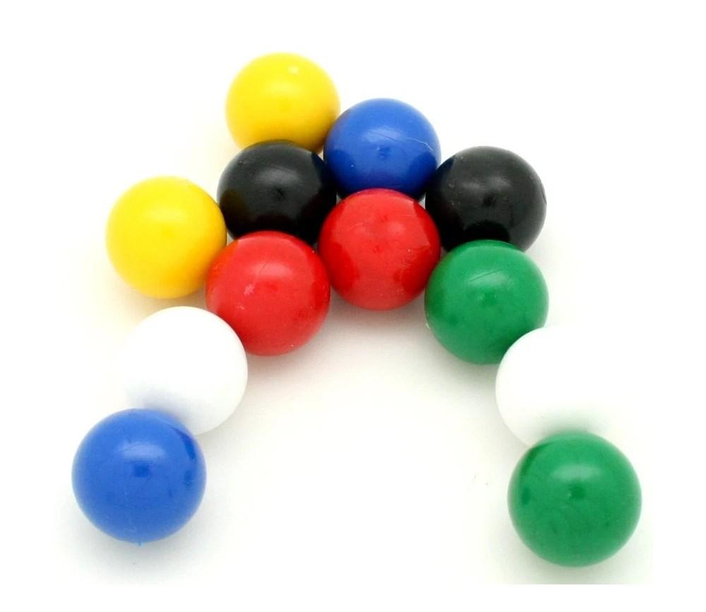Boules De 19 Mm Plastique Sphre Pour Jeux Mini Bille