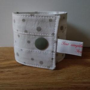Ronds de serviette en tissu
