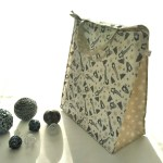 Emballages - Sacs Cadeaux - Lutins - Blanc Gris