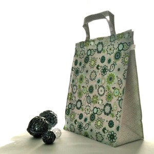 Emballages - Sacs à cadeau - Mandalas - Vert Gris