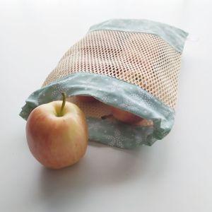 Emballages- Sacs à Vrac - Fleurs - Fond Vert