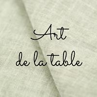 art de la table