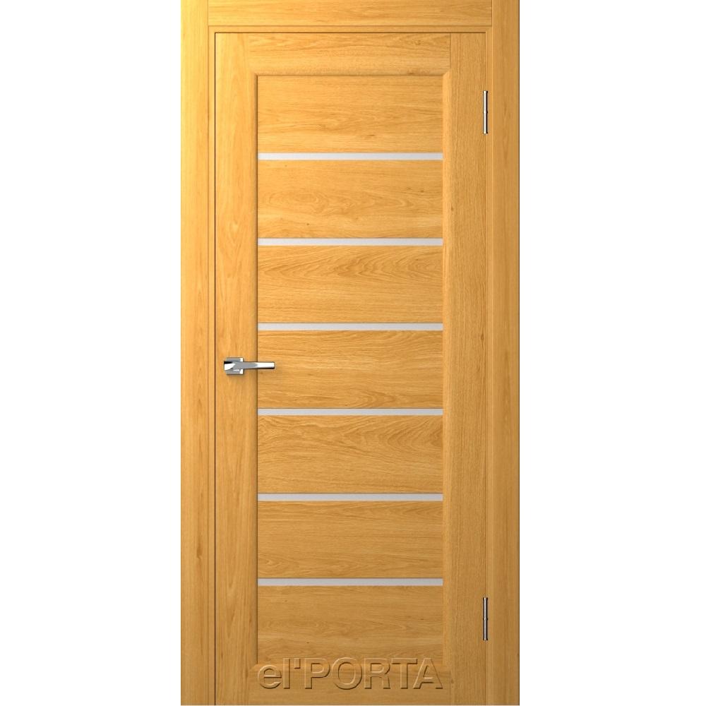 Дверь межкомнатная Вега 10 Светлый Орех