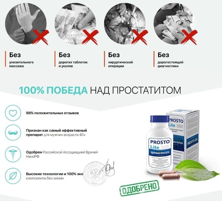 комплексное лечение простатита таблетками