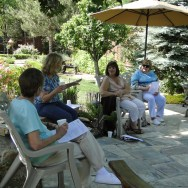 workshop in the garden