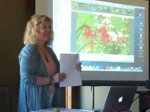 Tova at April Garden Club Presentation