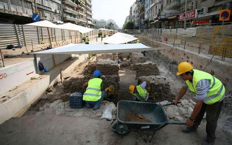 Βρέθηκε αρχαίος σκελετός που εικάζεται ότι ανήκει στον πρώτο εργάτη του μετρό της Θεσσαλονίκης