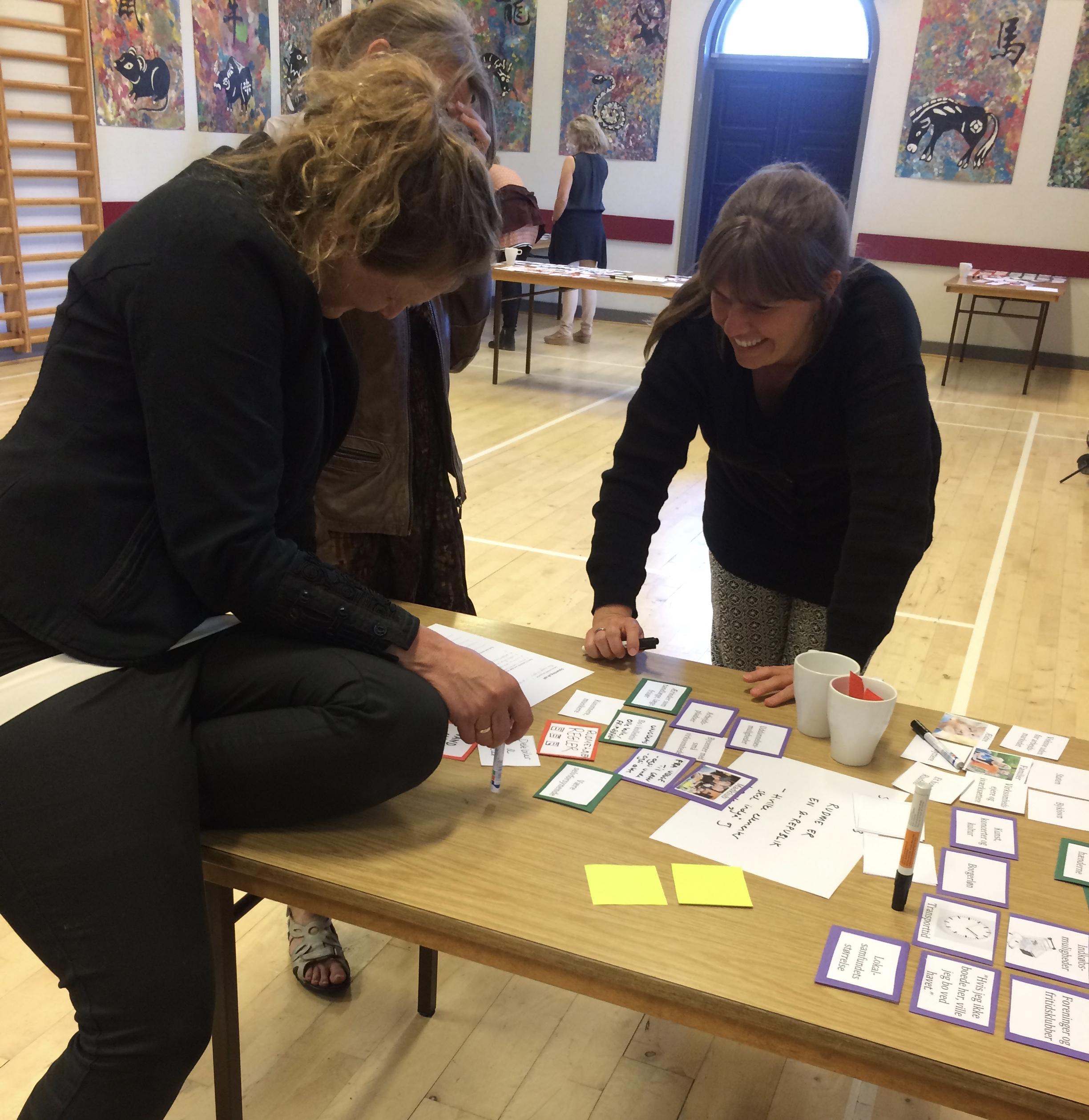 Case: Borgerinput til lokaludviklingsplan i Rudme ved hjælp af Tovejs' dialogspil til idéudvikling