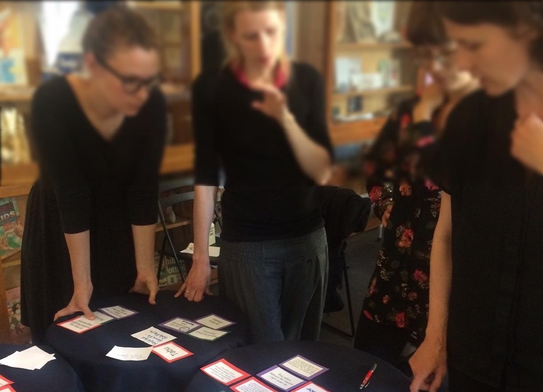 Tovejs' dialogspil blev brugt i forbindelse med projektet Bedre Barsel.