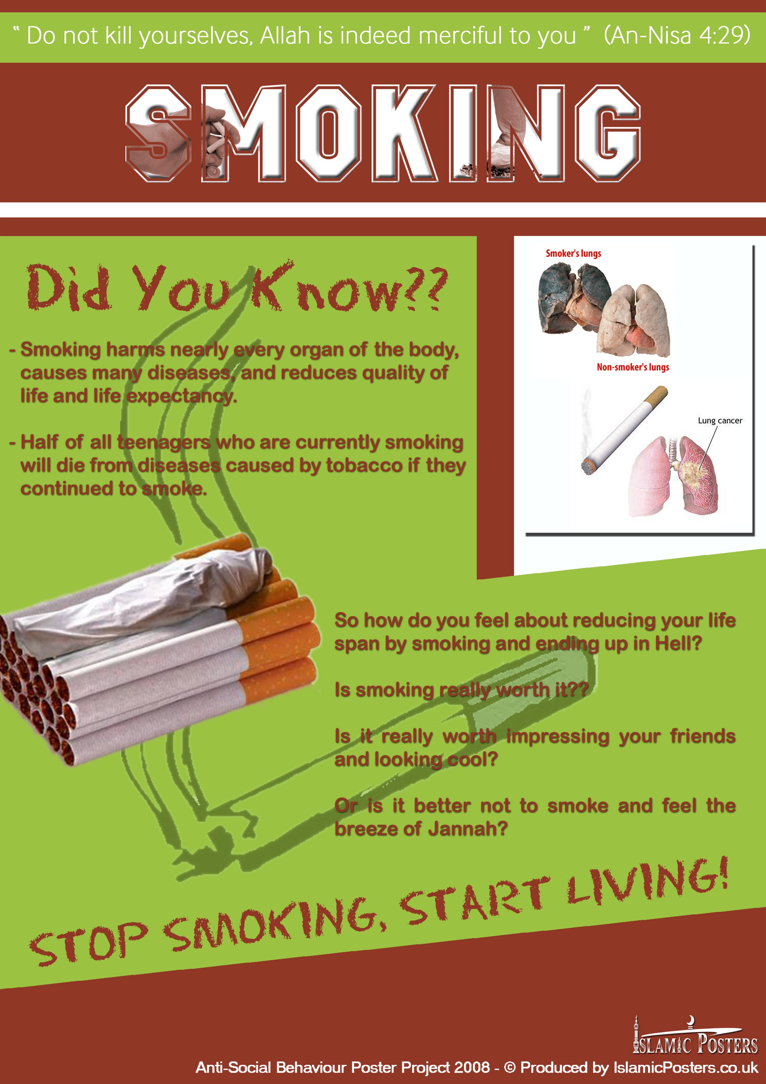 Stop Smoking Start Living