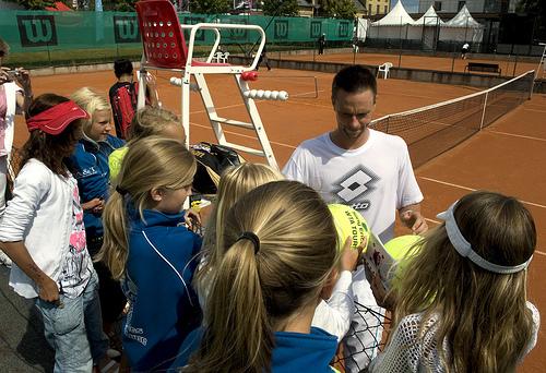 Tennis, Dam, Swedish Open