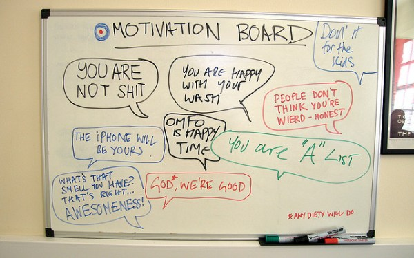 Motivating employees is an art