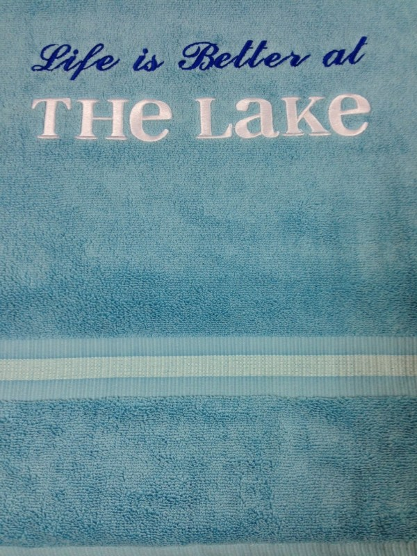 Customized Gift - Embroidered Towel