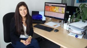Camila aus Ecuador im Auslandspraktikum