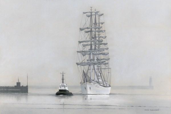 039-Fog on the Tyne