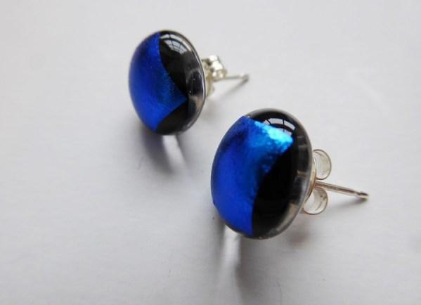 Rosie Waites dark blue studs