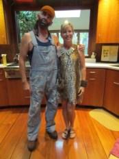 Redneck & Cavewoman