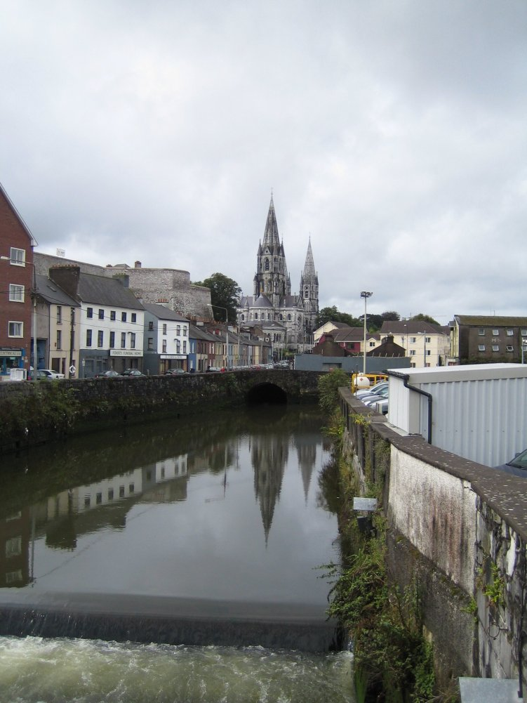 Cork on the shores of the river Lee