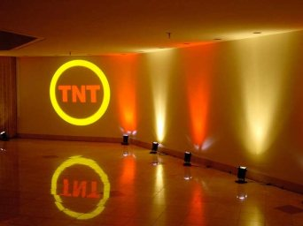 tnt logo on wall