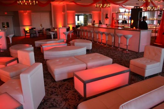 lounge furniture for party event