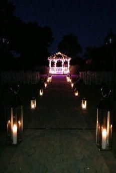 wedding gazebo lighting