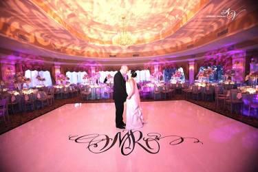 Dance-floor-with-wedding-monogram