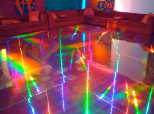 Rainbow-disco-holographic-dance-floor