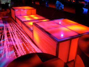 LED stage decks