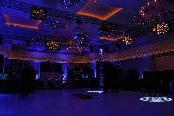 custom lighting event decor