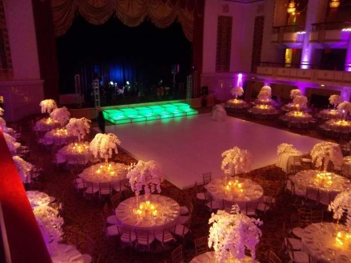 dance floor rental wedding waldorf astoria