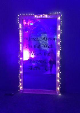 Mirror Prop for Storybook Wedding
