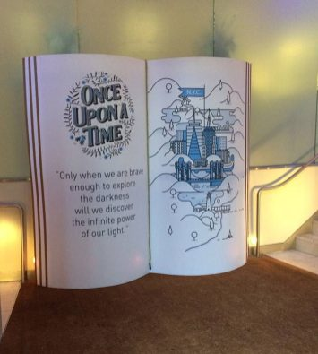 Giant Storybook Prop for Storybook Wedding