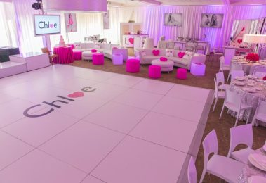 bat-mitzvah-portable-dance-floor-rental-with-custom-sticker